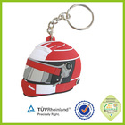 promotion supply fashion sport plastic gift custom motorcycle helmet keyring