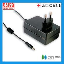 25W Adaptor Meanwell GSM25E48-P1J AC DC Single Output car cigarette lighter socket adapter