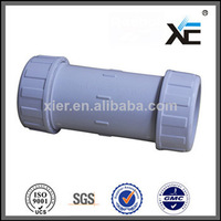 White Plastic PVC Quick Coupling