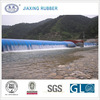 colorful air-filling water rubber dam bladder