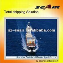 ocean shipping to jacksonville from Shenzhen or Guangzhou to Europe