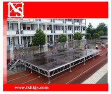 Aluminum Anti-slip Plywood Stage For School Show