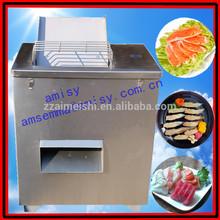 Fresh fish cutting machine cut fish into slice or segment