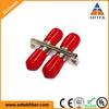 Hot selling !!! Cheap Price Plastic 2.0mm MM Duplex ST Adatper