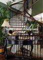 Ferro forjado gradeamentos para escadas interiores/decorativos interiores stail trilhos