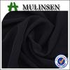 Mulinsen Textile 100% Polyester Formal Black Korean Black Jet Black Nida Fabric For Abaya Making