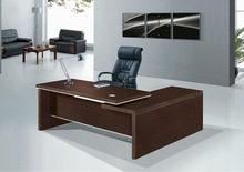 modern laminated particle board computer desk mobile with side table price