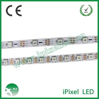 ws2812 rgb dream color led strip with connector