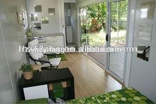 Flat Pack 20ft one bedroom modular homes