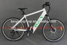 B&Y front wheel motor electric bike Hidden battery for sale TDF-43