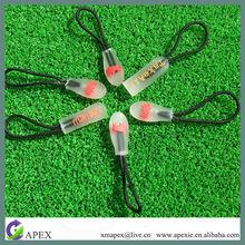 eco-friendly fancy transparent rope zipper pulls