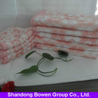 2014 hot sale high-quality 100% cotton active printed towel set