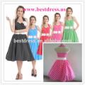 Vintage rockabilly 50s polka dot pinup retro swing festa vestido de baile tamanho 8-24