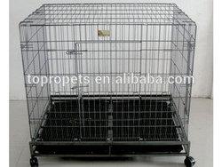 folding dog cage,dog kennel
