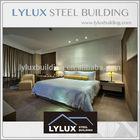 Prefab business 5 star hotel guest room plan luxury hotel design