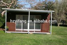 Flat Pack 20ft steel frame modular homes