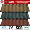 stone coated steel roof tiles /metal blue shingles /versatile roofing