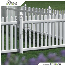 2014 hot sale Easy Installation New Product Vinyl Portable Picket Fence