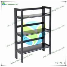 Winsome Wood Stackable Folding 3-Tier Display Shelf, Black YM4214W