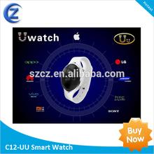 HOT Android 4.0 Smart Watch MTK6515 WIFI 512MB/4GB reloj telefono