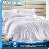 wedding wholesale polyester/cotton goose feather down duvet/quilt