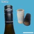 De aluminio de la botella de vino del sello con estaño Saran tapa de forro