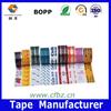 OEM Tape Logo Anti Corrossion Water Sovelent BOPP Modified Acrylic Adhesive
