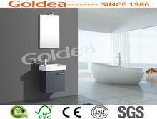 YBC66-040 Economic oval overflo bathroom cabinet with 2014 new CE report;samll cabinet