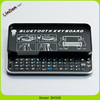 High Quality Backlit Slide-out Bluetooth Mini Keyboard For iPhone 5/5S