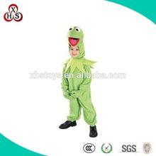 Hot Custom Made child frog costume for girl