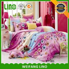 Home fashions kids cartoon quilt,bedding set luxury comforter/super king duvet cover