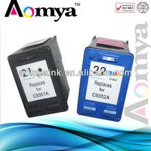 Aomya printer compatible ink cartridge for hp 21 22