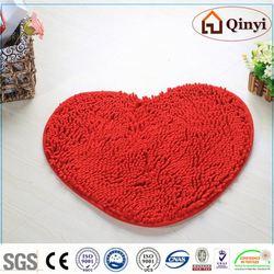 NEW 2013 Fashion New design 100% chenille products anti slip carpet rug mat / Chenille mat-QINYI