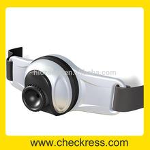 1280 x 720 P HD extérieur casque sport DV F6 avec 8 G mémoire avec la fonction de la musique MP3