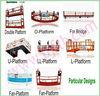 ZLP1000 Steel & Aluminum Bridge building equipment, Construction Platform