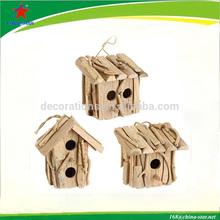 cute design new drift wood bird house
