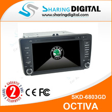 "6.2"" touch screen Bluetooth 2 din Car Stereo Dvd for SKODA Octavia 2005-2013"