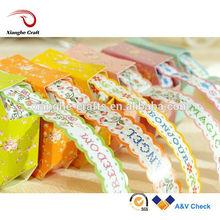 home decor Colorful Adhesive kraft tape paper sticker
