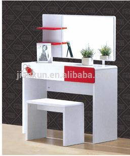 Blanc brillant belle moderne chambre meubles coiffeuse - Coiffeuse moderne pour chambre ...