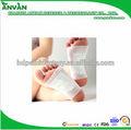 Caliente 2014 nuevo producto de cuidado de la salud de desintoxicación remiendo del pie delgado 100% natural