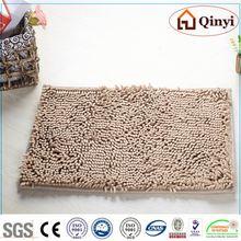 NEW ECO Chenille Materials Long Hair Chenille Small Size Flooring Door Carpet / Chenille mat-QINYI