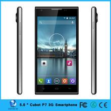Hitech Cubot P7 5 Inch MTK6582 Quad Core Android 4.2 IPS 960X540 512MB/4GB 5MP Dual Sim 3G GPS Smart Phone