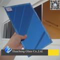 Espelho azul escuro/colorido folha de vidro espelho para a decoração da parede