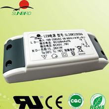 20W 320mA power supply single output led driver