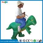 Halloween Inflatable Walking Dinosaur Rider Costume