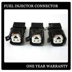EV1-EV6 Fuel Injector Adapter Kit,EV6 USCAR Style injector to EV1 style Harness.