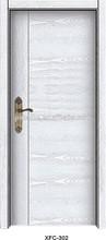 สีขาวประตูไม้ที่เป็นของแข็งที่เกิดขึ้นในประเทศจีน
