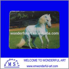 adorable plastic horse design fridge magnet