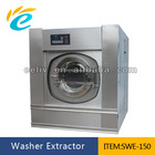 Hot selling 150kg heavy duty industrial laundry washer extractor machine for hotel/hpspital