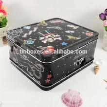 fantastic high quality handle metal makeup case
